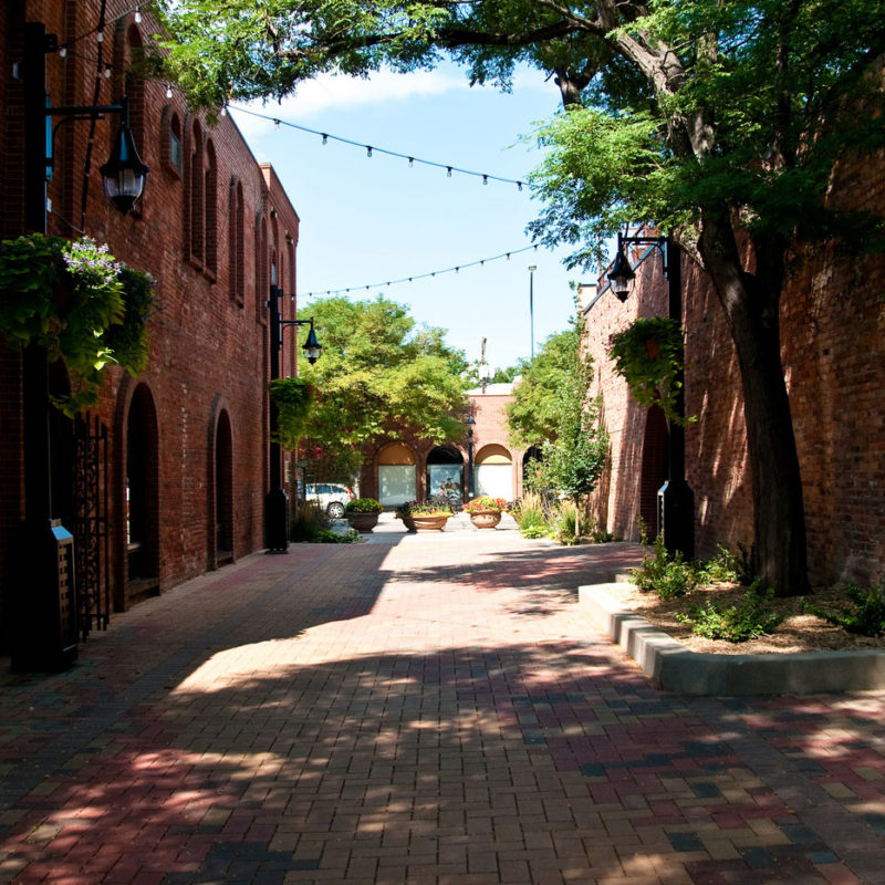 Downtown Alley Entrance